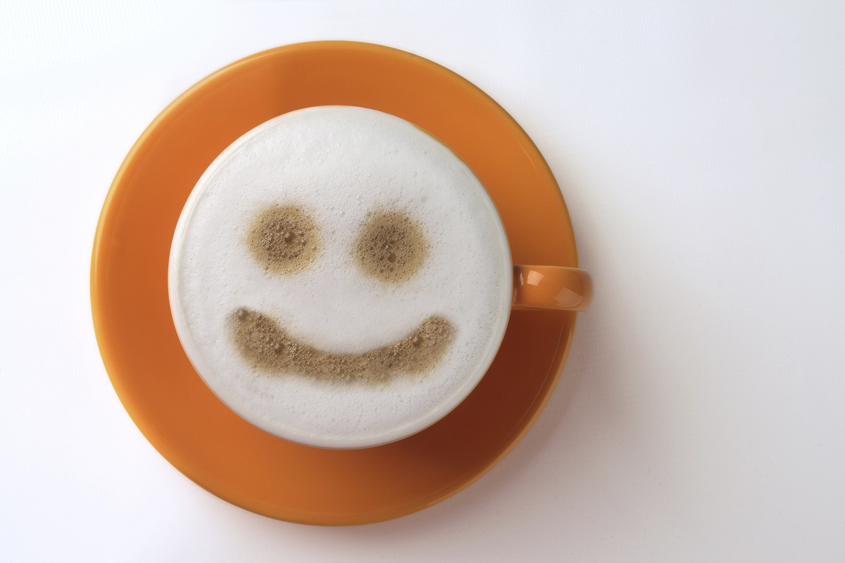 Koffie met een glimlach