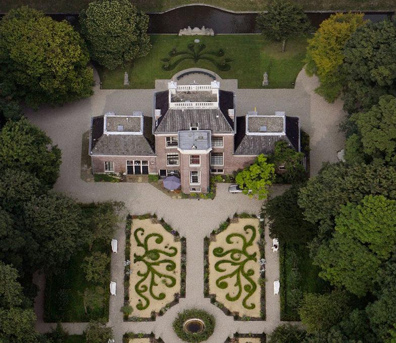 Vergaderruimte groen Amsterdam Huize Frankendael
