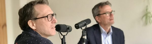 Futurist Tony Bosma in gesprek met Bob Pieterson